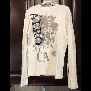 Used Aeropostale men's thermal long sleeve shirt.